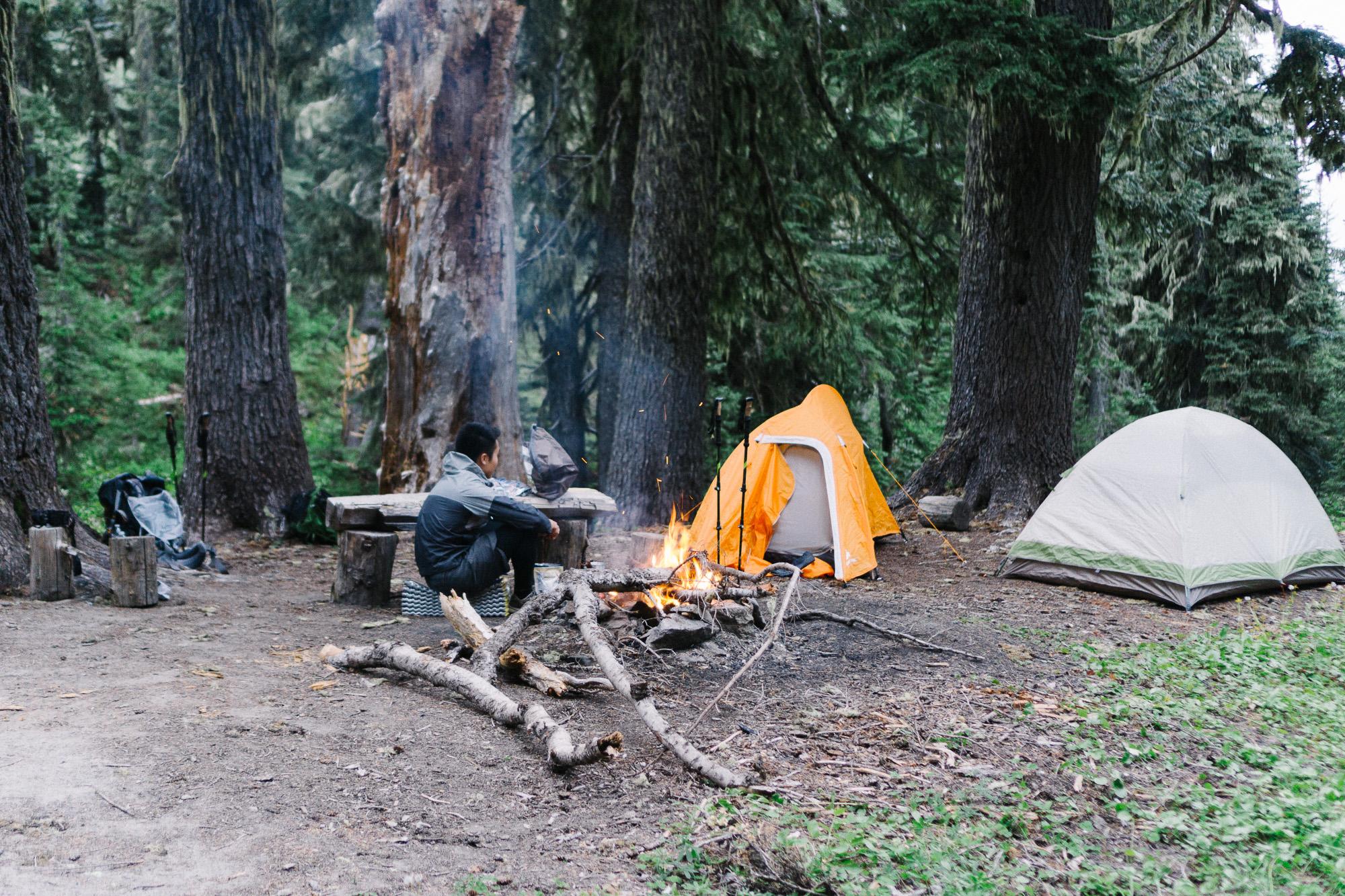 Packwood camping